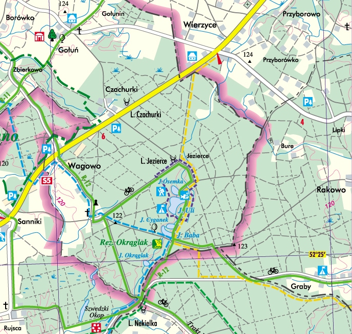 szlak_zolty_mapa
